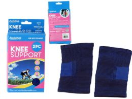 96 Units of 2 Piece Knee Supports - Bandages and Support Wraps