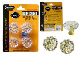 48 Units of 4 Piece Door And Cabinet Handle Knobs Screws Included - Doors