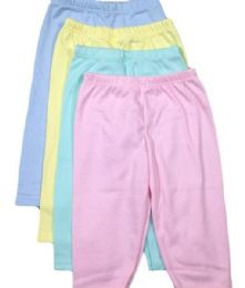 36 Units of Straw Berry Infant Pants In Assorted Colors - Baby Apparel