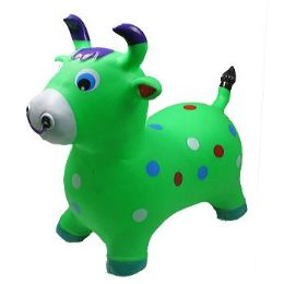 12 of Inflatable Jumping Green Cattle