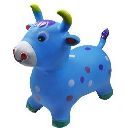 12 of Inflatable Jumping Blue Cattle