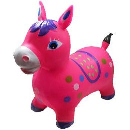 12 of Inflatable Jumping Pink Horse
