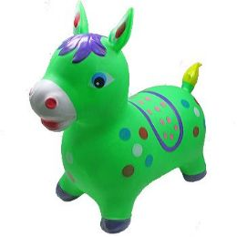 12 of Inflatable Jumping Green Horse