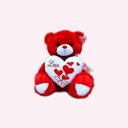 """15"""" Musical Red Bear - Valentine Cut Out's Decoration"""