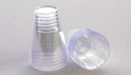 36 Units of Measurer/shotglasses, 2 Oz./2 Ml. -12 Pack. Clear - Plastic Tableware