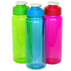 """36 Bulk Water Bottle - Flip Top, 21oz.- 8-1/2"""""""