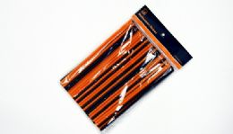 """24 Units of Halloween Flexible Straws 100 CounT- 8-1/4"""" - Straws and Stirrers"""