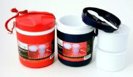 12 Bulk Insulated Food Jar W/strap - Large 2 Qt.