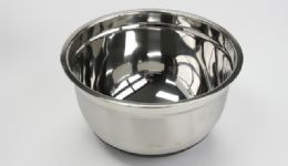 12 Units of Stainless Steel Mixing Bowl, Nonskid 5 Qt. - Baking Supplies
