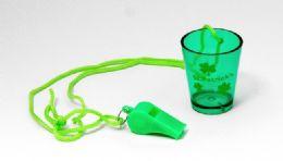 36 Units of St. Patrick's - Whistle & Shot Glass - St. Patricks