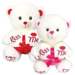 """12 Units of 16"""" Bear With /heart - Valentines"""
