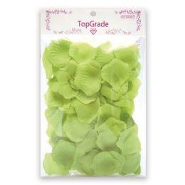 144 Units of Satin Rose Petal Lime - Valentine Cut Out's Decoration