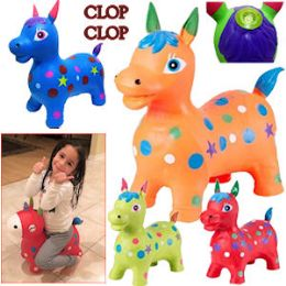 8 of Bouncy Inflatable Horses With/sound