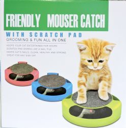 12 Units of Friendly Mouser Catch Cat Toy - Pet Accessories