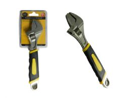 48 Units of Adjustable Wrench With Grip - Hardware Products