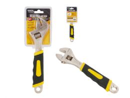 12 Units of Adjustable Wrench With Grip - Hardware Products