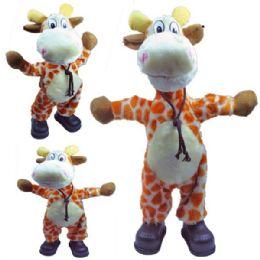 12 Bulk Battery Operated Dancing Giraffe