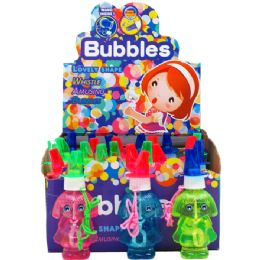 192 Units of Bubble Bottle With Whistle - Bubbles