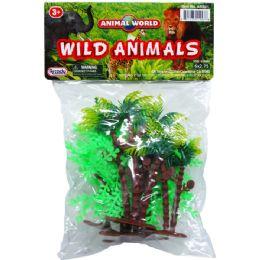144 Units of 6 Piece Assorted Wild Animals - Animals & Reptiles