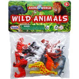 108 Units of 10 Piece Plastic Wild Animals - Animals & Reptiles