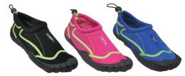 30 Units of Assorted Color Water Clog - Women's Aqua Socks