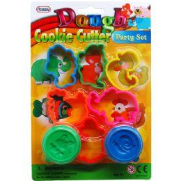 72 Units of Eight Piece Play Dough Molder Set - Clay & Play Dough