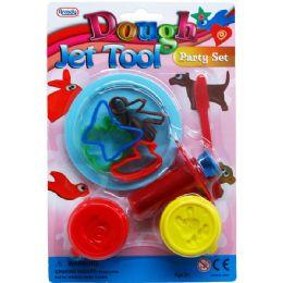 72 Units of Eight Piece Dough Play Tool Set - Clay & Play Dough