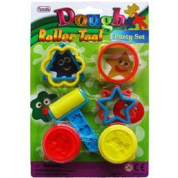 72 Units of 8 Piece Dough Play Tool Set - Clay & Play Dough