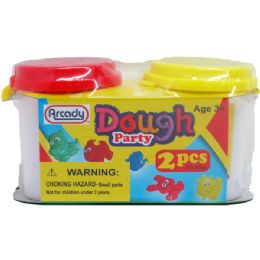 144 Units of Two Piece Dough Play Set - Clay & Play Dough