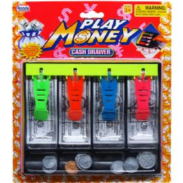 72 Units of Playing Money Cash Drawer - Educational Toys