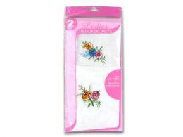 72 Units of Ladies Handkerchief Set - Handkerchief