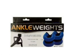 12 Wholesale 1 Pound Adjustable Ankle Weights