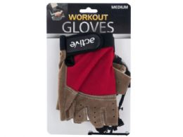 12 of Medium Size Breathable Workout Gloves