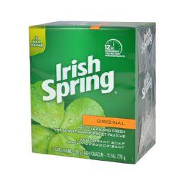 18 Bulk Irish Spring Bar Soap 3 Pk 3.75 Oz Original