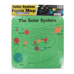 72 Units of Foam Solar System Map - Puzzles