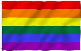24 Units of Rainbow Pride Flags - Flag