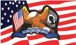 24 Units of Usa Pow Mia Flag Combo - Flag