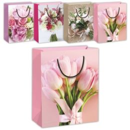 144 Wholesale Mothers Day Flower Gift Bag Xlarge