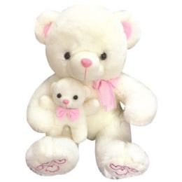 12 Wholesale Seventeen Inch Bear With Baby
