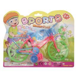 96 Units of Toy Bicycle - Magic & Joke Toys
