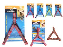 144 Units of Reflective Cushioned Pet Harness - Pet Collars and Leashes