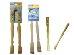 72 of 2pc Bamboo Backscratcher & Massager