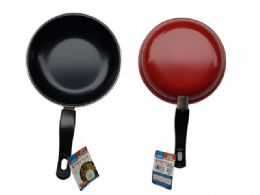 24 Units of Frying Pan With Handle - Baking Supplies