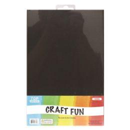 96 Bulk Eva Craft Fun Sheets In Black
