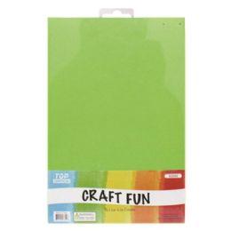 96 Bulk Craft Fun Five Pack Green Sheets