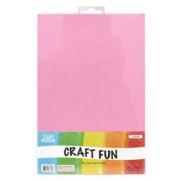 96 Bulk Eva Craft Fun Sheets In Pink