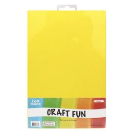 96 Bulk Craft Fun Five Pack Yellow Sheets