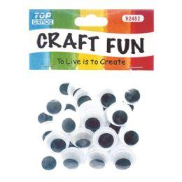144 Bulk Wiggle Craft Eye Forty Count