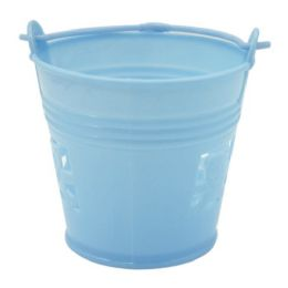 144 Units of Bucket Baby Blue - Baby Shower