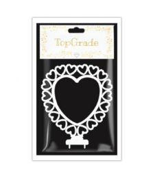144 Units of Plastic Heart - Wedding & Anniversary